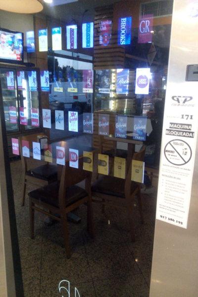 máquinas de tabaco